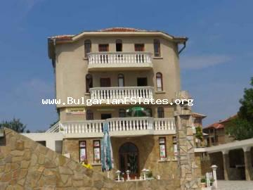 For sale is huge house with shop and café in the village of Cherno more only 10 km from the sea and the seaside city of Bourgas in Bulgaria.