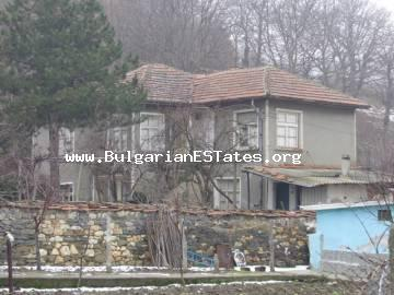 Two-storey rural house is for sale located at the village of Levka, Svilengrad, Bulgaria