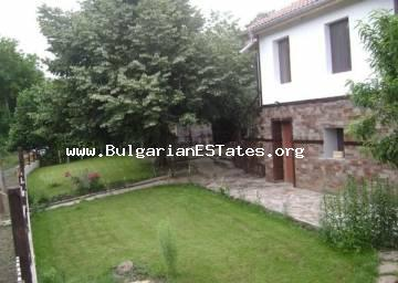 Renovated two-storey house for sale in the village of Mladezhko, 55 km from the town of Bourgas and 32 km from the town of Malko Tarnovo