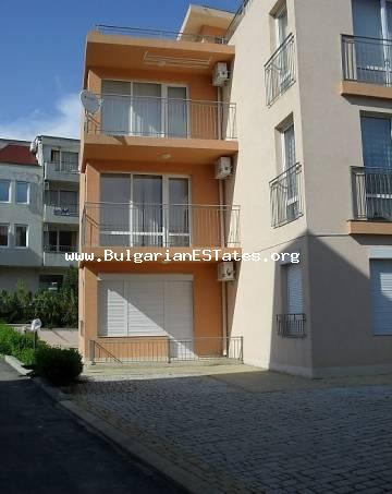 For sale is completely furnished apartment in St. Vlas, Bulgaria, only 200 m from the beach.