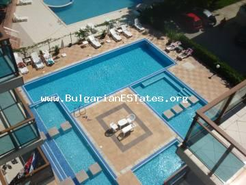"Large two bedroom apartment is for sale in ""Villa Itta"", Sunny Beach, Bulgaria."