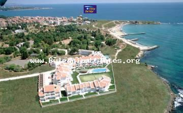 Urgent sale! One-bedroom apartment is for sale – only 50 meters from the beach in Ravda, Burgas, Bulgaria.
