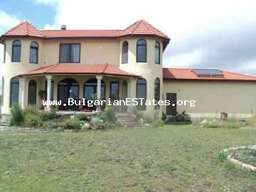 Two-storey luxury house is for sale in Kableshkovo with sea view.
