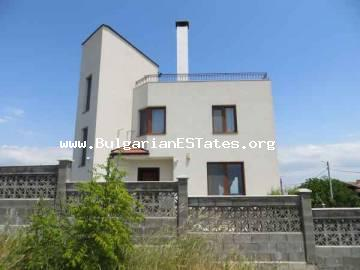 New luxury house in the village of Laka is for sale, only 5 km from the sea and 10 km from the city of Bourgas.