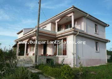 A new house in the village of Cherno More is for sale, just 9 km from the city of Bourgas.