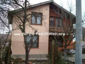 For sale is offered a new house in the village of Dyulevo - only 27 km away from Bourgas.