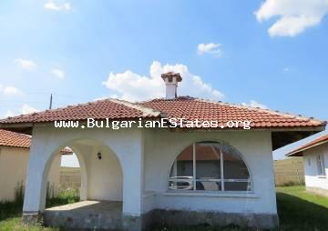 New house in the village of Cherno morre is offered for sale, 10 km away from the seaside city of Bourgas.