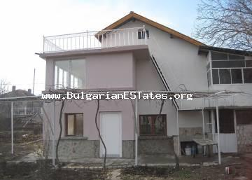 Two-storey large house is for sale in the village of Roudnik, located in a quiet and peaceful location,  away from the noise of the big city, just 13 km away from the city of Bourgas and the sea.