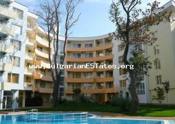 "Great bargain – one bedroom apartment in complex ""Yassen"" Sunny Beach, just 70 m from the beach."