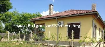 Buy new and luxurious house just 15 km from the city Bourgas and the sea, in the village of Trastikovo.