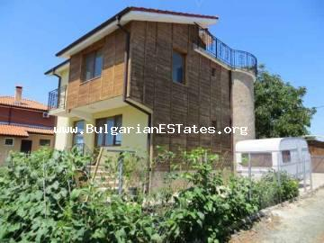 For sale is new house close to the sea coast in Bulgaria, in the village of Kamenar.