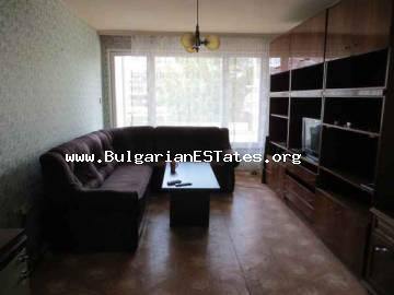 Buy huge two-bedroom apartment in the centre of the seaside city of Bourgas, Bulgaria.