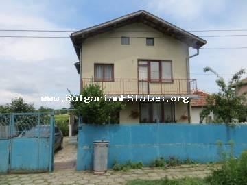 Hot offer: two-storey house for sale 28 500 euro, turnkey, in the village of Livada, just 25 km from the city of Burgas.