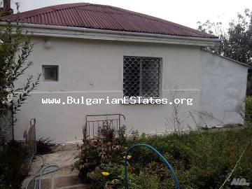 For sale is a small one-story house in the village of Cherni vrah, 16 km from Bourgas and the sea.