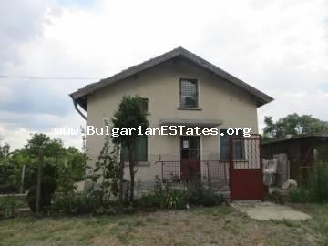A new one-storey house in the village of Polski Izvor, 15 km from the city of Burgas, the sea and the airport is offered for sale profitably.