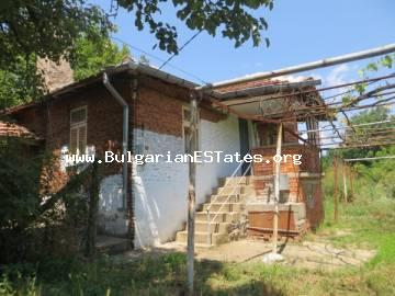 For sale is a two-storey house in the village of Gorska Polyana, only 70 km from the city of Burgas and the sea - for the price of 6999 euro.