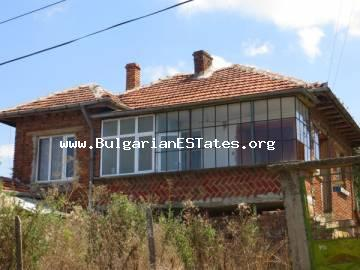 Buy two-storey house in the village of Krushevets, just 25 km from the sea and the town of Primorsko and 30 km from the city of Burgas.