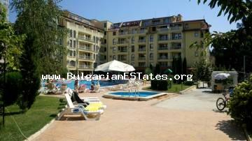 "Affordable large two-bedroom apartment is for sale in the complex ""Summer Dreams"", Bulgaria, Sunny Beach."