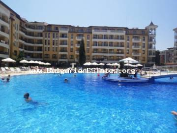 For sale is a beautiful, well-furnished, two-bedroom apartment in complex Royal Sun, Sunny Beach.