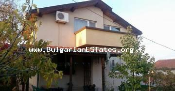Sale profitable new, two-storey house in the village of Konstantinovo, just 10 km from the town of Bourgas and the sea.