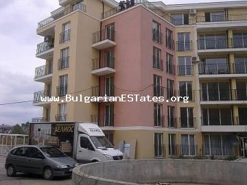 "Affordable one-bedroom apartment in the new complex ""Golden Day 2"", Sunny Beach, Bulgaria is for sale."