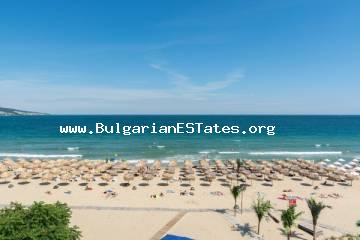 "Luxury duplex apartment just 10 meters from the beach in prestigious complex ""Heaven"", Sunny Beach is for sale."
