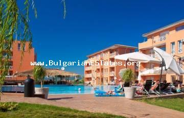 "We bring to your attention a cheap, two-bedroom apartment for sale in complex ""Sunny Day"" 6, Sunny Beach."