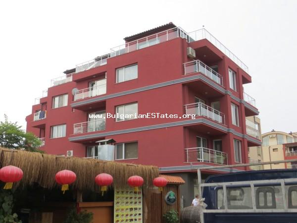 Top offer. A large apartment for sale in Sozopol for reasonable and affordable price, only 50 meters from the beach.