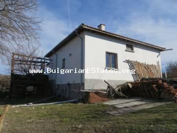 Unique offer. Large renovated house in a village just 15 km from the town of Elhovo and 100 km from Burgas.