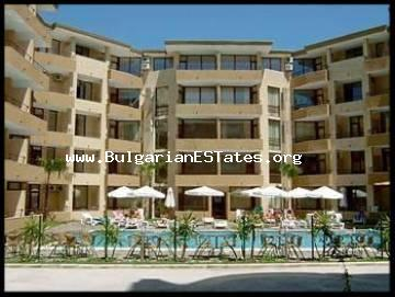"We sell a large two-bedroom furnished apartment in the complex ""Sands"", Sunny Beach"