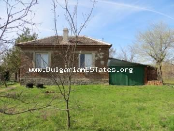 For sale is offered an affordable, well-maintained house in the village of Svetlina, only 35 km from the city of Bourgas.