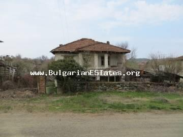 Cheap house for sale in the village of Fakia , just 50km. from the city of Burgas.