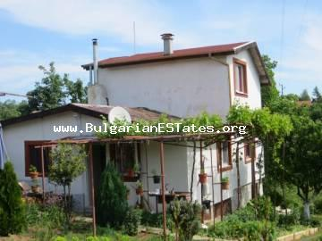 For sale is offered a two-storey brick house with an incredible view just 35 km from the city of Bourgas and the sea.