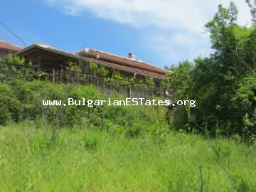 The house for sale completely ready for move, in the village of Novo Panicharevo, 17 km from the sea and the town of Primorsko and 28 km from the city of Bourgas.
