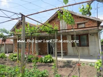 TOP OFFER. For sale an inexpensive house in the village of Voinika only 68 km from the city of Bourgas and the sea.