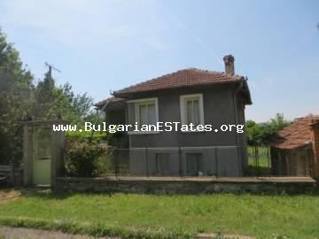 A house for sale on advantageous terms in the village of Voinika only 68 km away from the city of Bourgas and the sea.