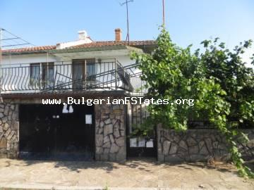 Two-storey, renovated house for sale in the village of Dimchevo, only 8 km from Burgas and the sea.