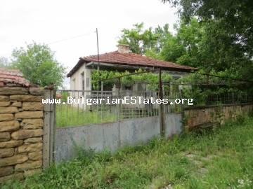 Affordable two one-storey houses in the village of Svetlina are offered for sale, only 35 km from the city of Bourgas and the seacoast.