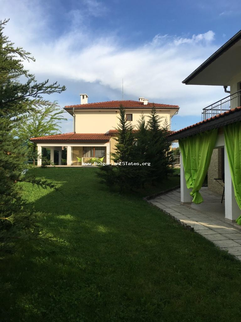 For sale is offered a two-storey house in Marynka Village in Bourgas region of Bulgaria.