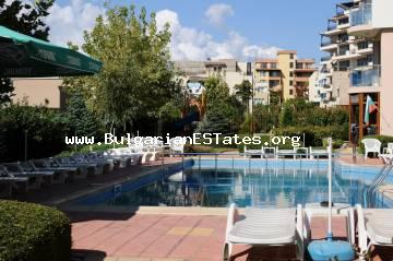 "One-bedroom apartment is offered for sale in ""Starfish"" complex, Bulgaria, in St. Vlas resort."
