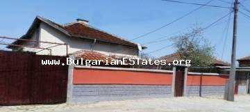 A newly built house is offered for sale in the town of Sredets, only 25 km away from the city of Bourgas and the sea.
