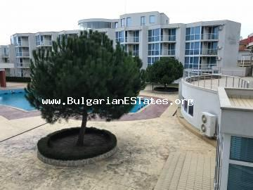 For sale is offered a furnished one-bedroom apartment in Atlantis complex, Sarafovo, the city of Bourgas.