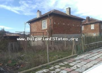A solid house with a nice private yard in the village of Novo Panicharevo is offered for sale, 17 km from the sea and the town of Primorsko and 28 km from the city of Bourgas.
