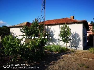 For sale is an affordable massive one-storey house in Cherno More residential area, the city of Bourgas, only 10 km from the sea.