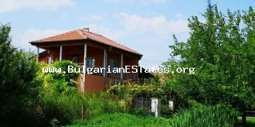 An attractive property is offered for sale in the village of Debelt, only 10 minutes drive to the city of Burgas and the sea.