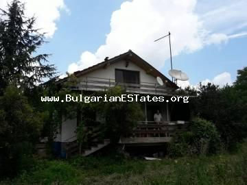 Buy a house in the village of Indzhe Voyvoda, in the heart of the Strandzha Mountain and only 30 km from the city of Bourgas and the sea.