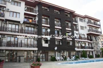 "Studio is for sale in ""Panorama Bay 2"" complex in the town of Saint Vlas."