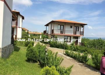 For sale is a new two-storey house in the village of Aleksandrovo, just 6 km from the sea and Sunny Beach resort.