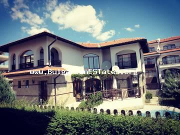 New luxury two-storey house for sale in Vineyards complex, just 2 km from the town of Aheloy and the sea.