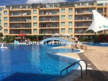 "One-bedroom furnished apartment in the complex ""Pollo Resort"", Sunny Beach."